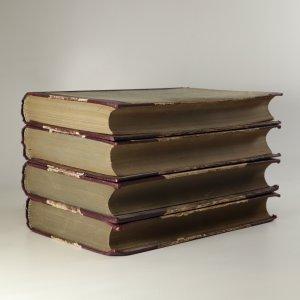 antikvární kniha Vojna a mír I. - IV. díl (4 svazky), neuveden
