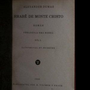 antikvární kniha Hrabě Monte Christo I-VI.; Pán světa I-II. díl; Černý tulipán (9 svazků), 1929-1930