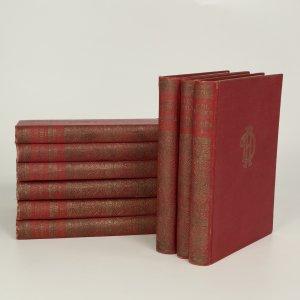 náhled knihy - Hrabě Monte Christo I-VI.; Pán světa I-II. díl; Černý tulipán (9 svazků)