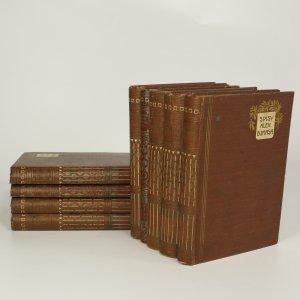 náhled knihy - Spisy Alex. Dumasa (tituly vypsány v poznámce, 9 svazků)