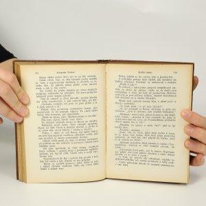 antikvární kniha Spisy Alex. Dumasa (tituly vypsány v poznámce, 9 svazků), 1926-1928