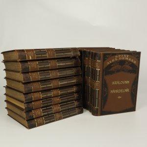 náhled knihy - Spisy Alexandera Dumasa (tituly vypsány v poznámce, 17 svazků)