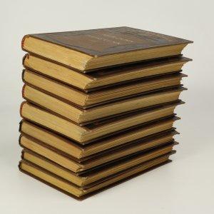 antikvární kniha Spisy Alexandera Dumasa (tituly vypsány v poznámce, 17 svazků), 1923-1925