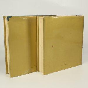 antikvární kniha Životy nejvyznačnějších malířů, sochařů a architektů I-II. díl (2 svazky), 1976-1977