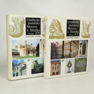 náhled knihy - Umělecké památky Moravy a Slezska A/I, J/N (2 svazky)