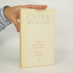 náhled knihy - České myšlení. Česká otázka