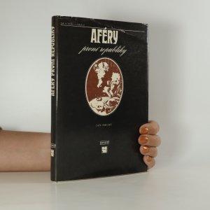 náhled knihy - Aféry první republiky