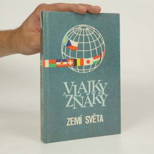 náhled knihy - Vlajky a znaky zemí světa (kniha je cítit kouřem)