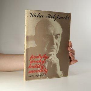 náhled knihy - Portréty, úvahy, kritiky, morality