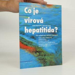 náhled knihy - Co je virová hepatitida? (kniha je cítit kouřem)