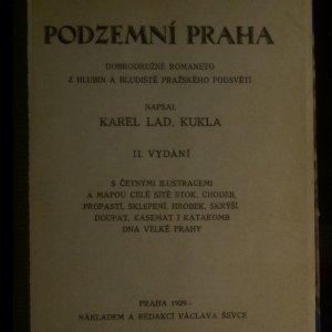 antikvární kniha Podzemní Praha, 1929