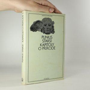 náhled knihy - Kapitoly o přírodě