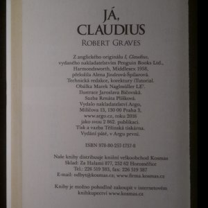 antikvární kniha Já, Claudius, 2016
