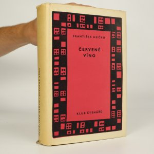 náhled knihy - Červené víno