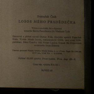 antikvární kniha Losos mého pradědečka, 1958