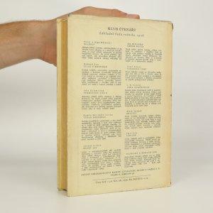 antikvární kniha Krabice živých, 1956