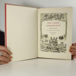 antikvární kniha Tisíc a jedno dobrodružství, 1955