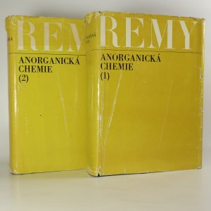 náhled knihy - Anorganická chemie (1. a 2. díl ve 2 svazcích)