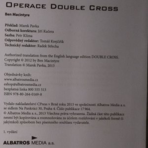 antikvární kniha Operace Double Cross, 2013