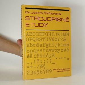 náhled knihy - Strojopisné etudy : texty k zvýšení zdatnosti v opisu naslepo