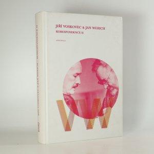 náhled knihy - Korespondence II. Jiří Voskovec a Jan Werich