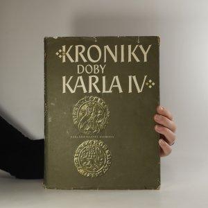 náhled knihy - Kroniky doby Karla IV.