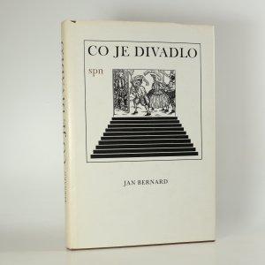 náhled knihy - Co je divadlo