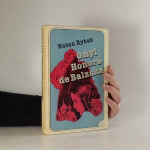 náhled knihy - Omyl Honoré de Balzaka