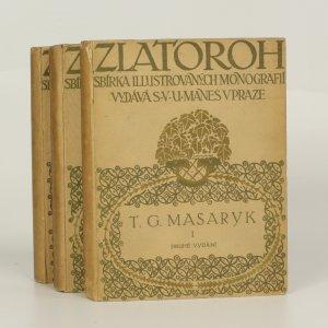 náhled knihy - T. G. Masaryk I.-III. (ve 3 svazcích)