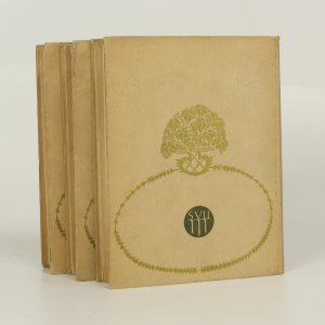 antikvární kniha T. G. Masaryk I.-III. (ve 3 svazcích), 1928-1930