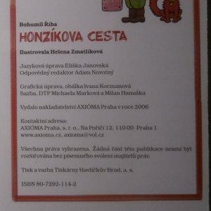 antikvární kniha Honzíkova cesta, 2006