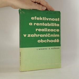 náhled knihy - Efektivnost a rentabilita realizace v zahraničním obchodě