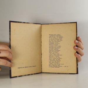 antikvární kniha V noci (asi podpis autora), 1919