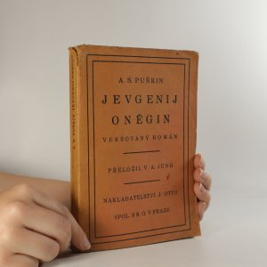 náhled knihy - Jevgenij Oněgin. Veršovaný román