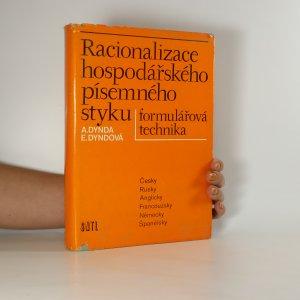 náhled knihy - Racionalizace hospodářského písemného styku