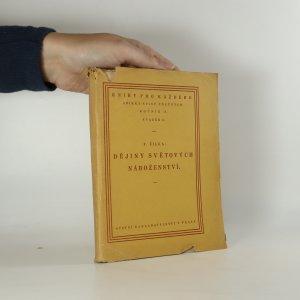 náhled knihy - Dějiny světových náboženství. Rozhled po duchovním životě lidstva