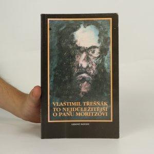 náhled knihy - To nejdůležitější o panu Moritzovi