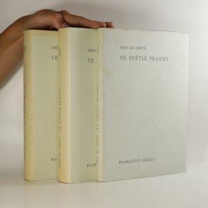 náhled knihy - Ve světle pravdy. Poselství grálu (3 svazky)