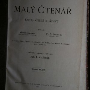 antikvární kniha Malý čtenář. Kniha české mládeže (ročník XXXIV.), 1915