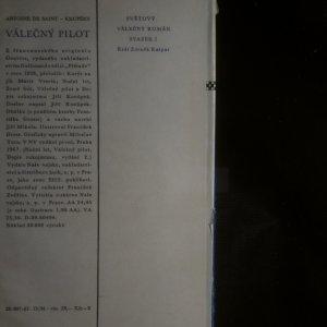 antikvární kniha Válečný pilot, 1967, 1966