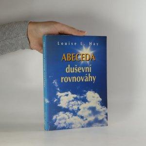 náhled knihy - Abeceda duševní rovnováhy