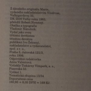 antikvární kniha Madame Tussaudová, 1996