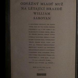 antikvární kniha Odvážný mladý muž na létající hrazdě, 1958