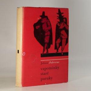 náhled knihy - Vzpomínky staré paruky. Volné, velmi volné převyprávění Pamětí Carla Goldoniho.