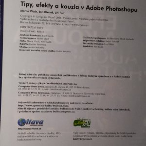 antikvární kniha Tipy, efekty a kouzla v Adobe Photoshopu, 2001