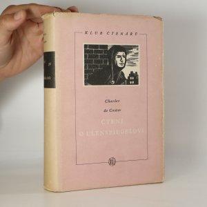náhled knihy - Čtení o Ulenspiegelovi, o jeho rekovných, veselých a slavných příhodách a o Lammovi Goedzakovi v zemi Flanderské a jinde
