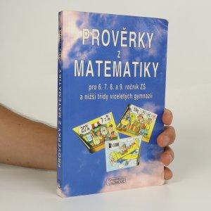 náhled knihy - Prověrky z matematiky