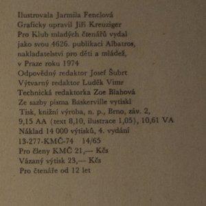 antikvární kniha Karlínská 5, 1974