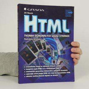 náhled knihy - HTML. Tvorba dokonalých www stránek.