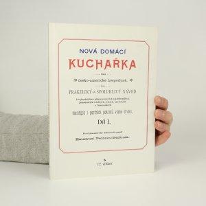 náhled knihy - Nová domácí kuchařka pro česko-americké hospodyně